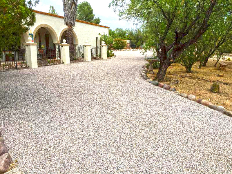 Driveway sealcoating asphalt seal coating private road