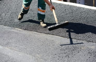 Chipseal paving